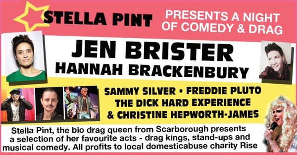 B RIGHT ON LGBT Festival: A night of comedy and drag