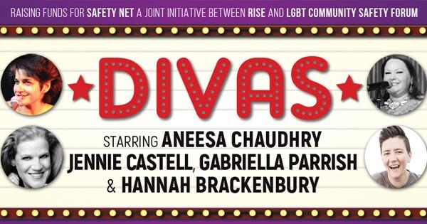 B RIGHT ON LGBT Festival: DIVAS on Sunday, February 19
