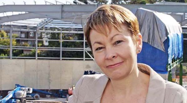 Caroline Lucas MP to hold surgery at offices of Terrence Higgins Trust