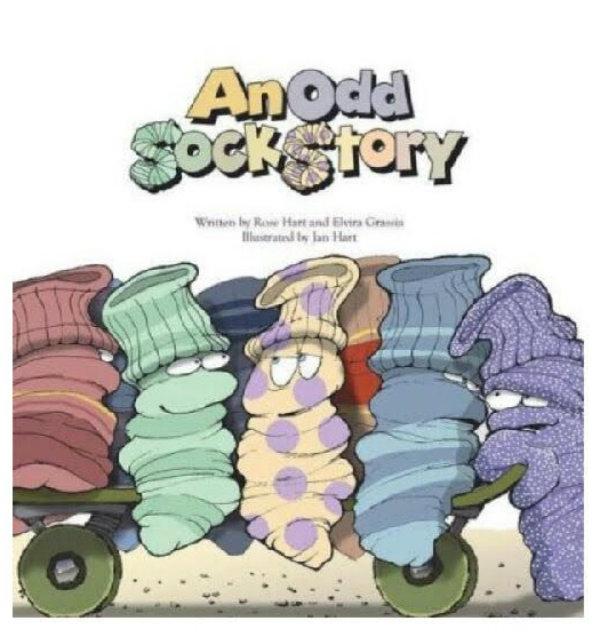 BOOK REVIEW: An Odd Sock Story: Rose & Jan Hart, Elvira Grassia,