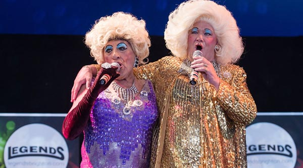 Legends Cabaret Big Top returns to Brighton Pride