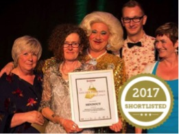 LGBTQ mental health charity shortlisted for major national award