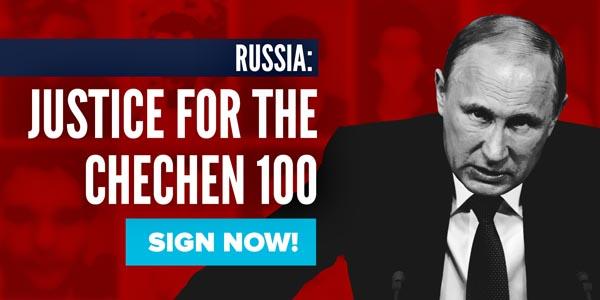 Gay men being murdered in Chechnya