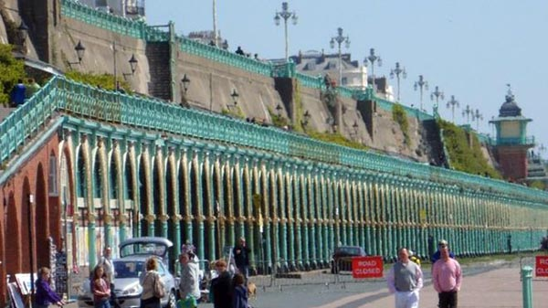 Brighton Kemptown MP urges cross-party approach to Madeira Terraces funding bid