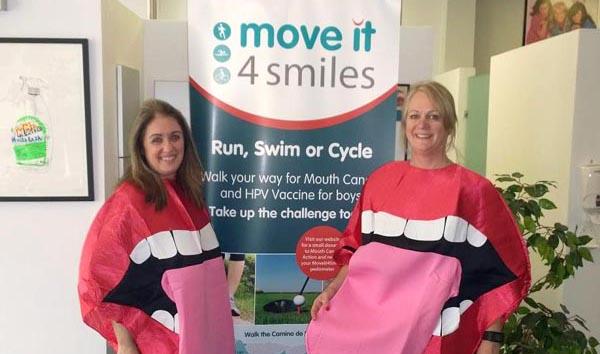 Brighton dental team run to raise money for mouth cancer
