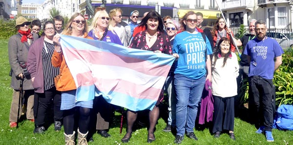 Labour and Green leaders send messages of support to Brighton Trans Visibility event