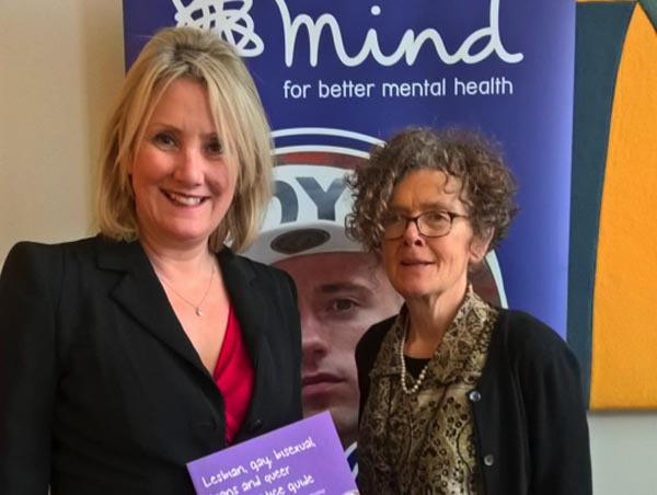 MindOut Good Practice Guide, launched at House of Commons
