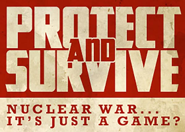 BRIGHTON FRINGE PREVIEW: Protect and Survive @ Sweet St Andrew's
