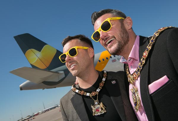 Lord Mayor of Manchester joins inaugural flight to Mykonos