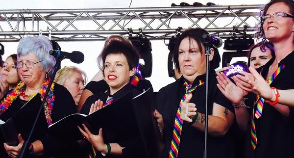 Newcastle choir wins North East LGBT+ award