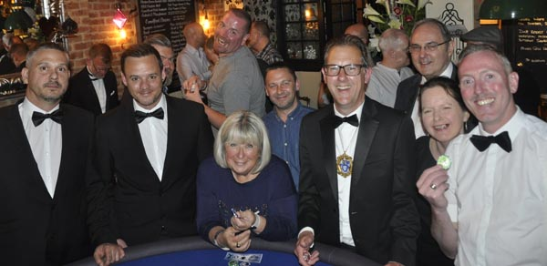 Casino evening raises £401 for cancer charity