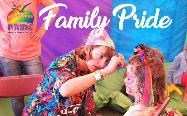 Brighton & Hove Pride is Family Pride