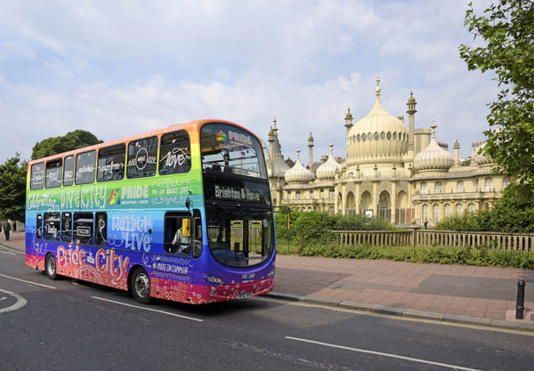 Bus company supports Eastbourne Pride