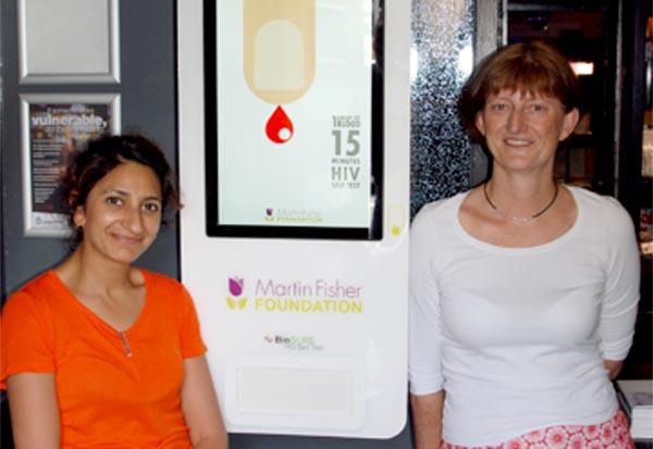 Brighton Sauna trial new HIV testing vending machine