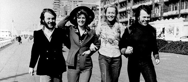 Abba's 1974 Eurovision win marked with Blue Plaque at Dome