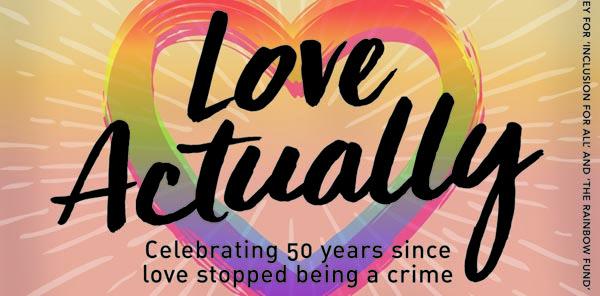 PREVIEW: 'Love Actually' with Actually Gay Men's Chorus
