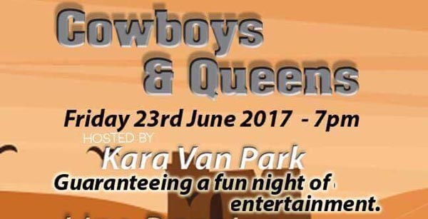 Cowboys, Queens and fine dining at the Old Ship Hotel this Friday