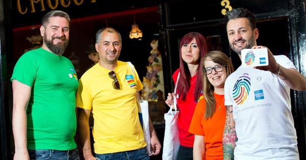 American Express continue their support for Brighton Pride