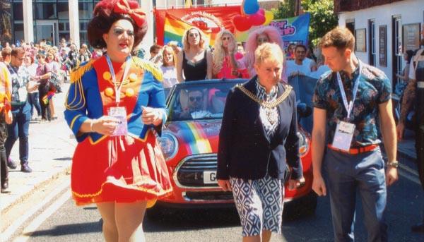 Record crowds attend Canterbury Pride