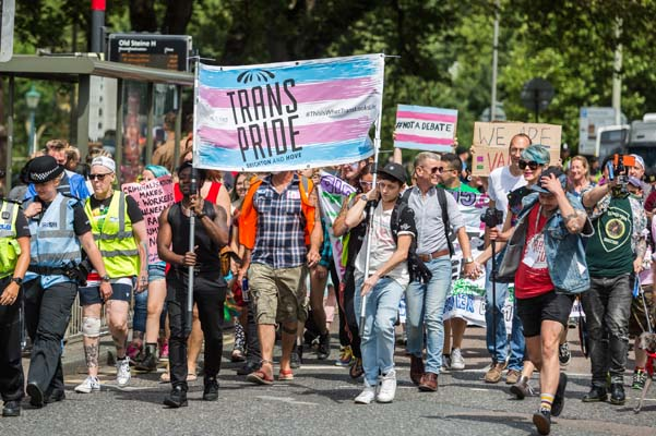 PICTURE DIARY: Trans Pride 2017