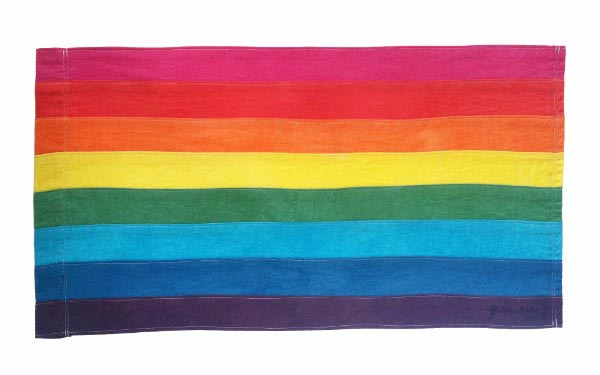 Rainbow flag acquired for Design Museum's permanent collection