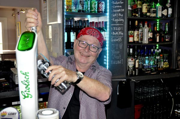 Who's the new boss behind the bar @Queens Arms?