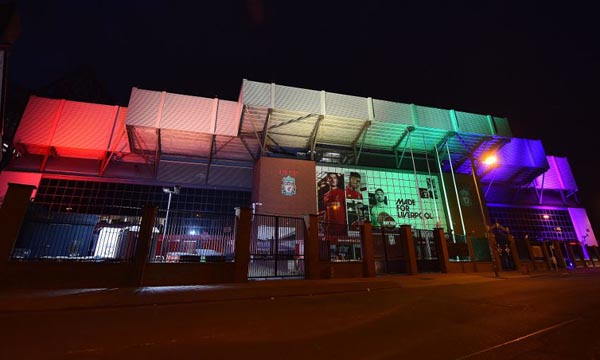 Reds continue supporting Liverpool Pride