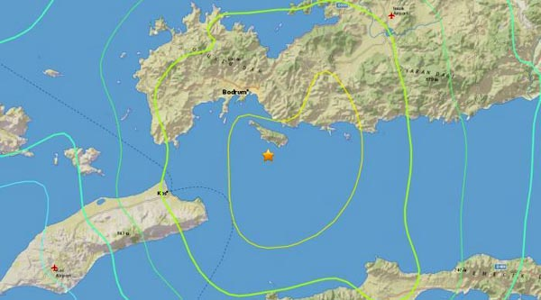 Turkey and Greece suffer earthquake in tourist hot spots