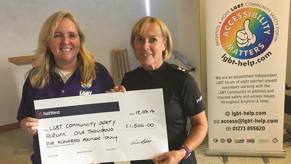 Police fund High Dependency Unit for Brighton Pride