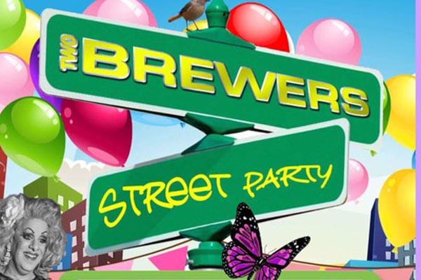 PICTURE DIARY: Two Brewers Street Party, Clapham, London