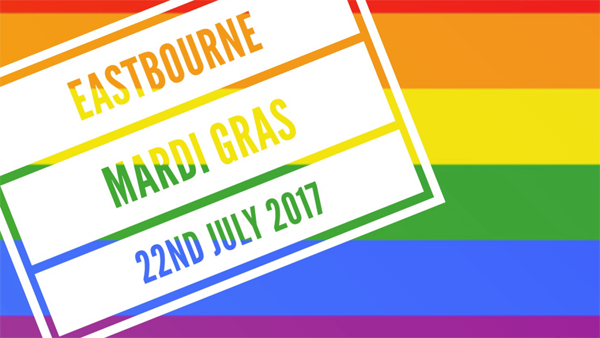 Eastbourne prepares for its first LGBT+ Mardi Gras