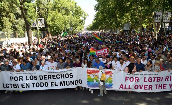 PICTURE DIARY: World Pride in Madrid, 2017
