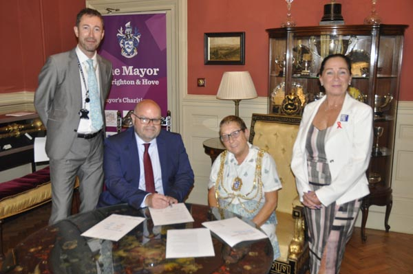 Brighton & Hove signs up to international HIV initiative