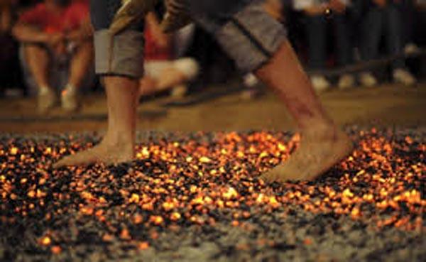 Walk over hot coals for LGBT+ mental health charity