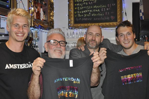 Amsterdam Bar and Kitchen raise £500 for Sussex Beacon