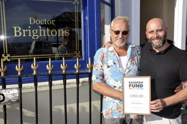 Dr Brightons comedy nights raise £950 for good causes