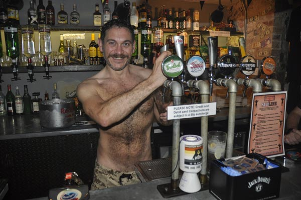 Who's the boss behind the bar @Subline