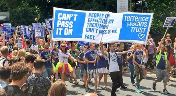 THT busts stigma about HIV at Brighton Pride
