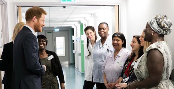 """CQC inspection rates Mildmay Hospital """"Outstanding"""""""