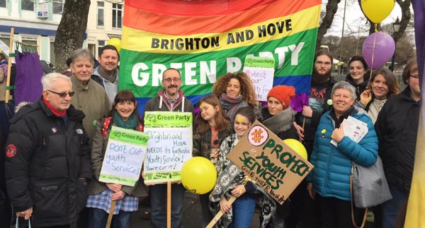 Greens angry at new youth service 'cuts'