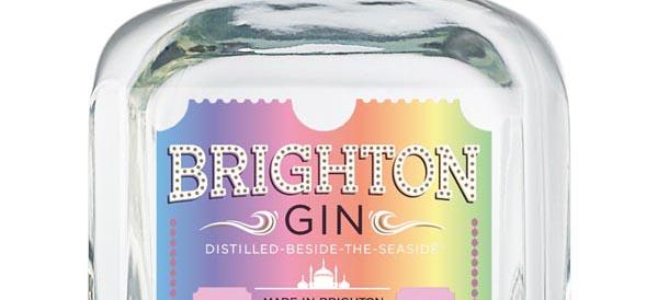 Brighton Gin celebrates Brighton Pride with limited edition bottle