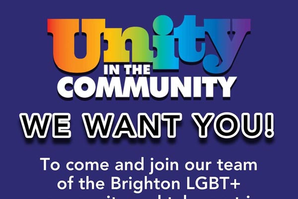 Run in Unity to benefit the LGBT Community Safety Forum