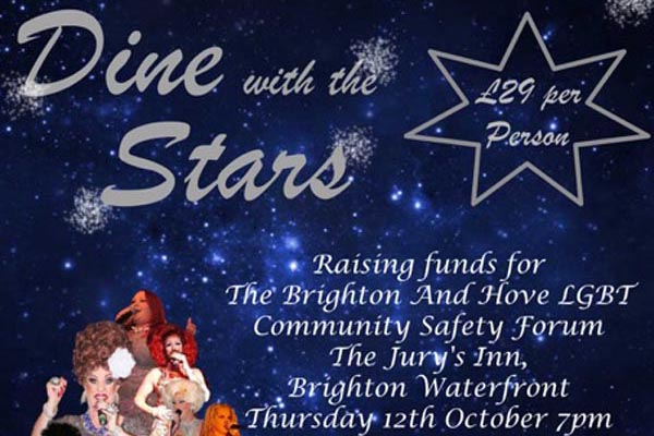 Dine with the Stars for The LGBT Community Safety Forum