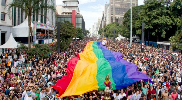TRAVEL: Sao Paulo Pride campaigns for a secular state in Brazil