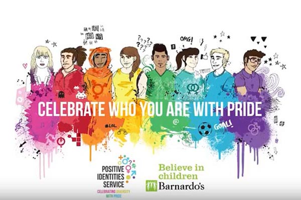 Barnardo's launch free resources to help teachers educate children about LGBT+ relationships and identities