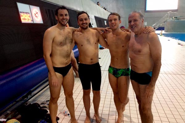 'Out to swim' swimmers win national medals