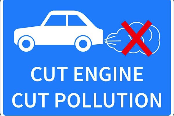 Drivers advised to 'Switch off their engine'