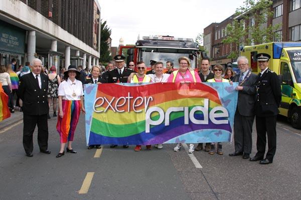 Ben Bradshaw MP backs Exeter's bid to host UK Pride 2018