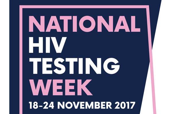 Take a test during National HIV Testing Week 2017