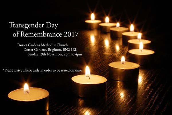 Today is Trangender Day of Remembrance